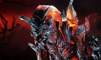 Rhino Alien Xenomorph Kenner tribute 2020 figure unveiled by NECA!