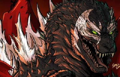 SpawnZilla: This Spawn x Godzilla crossover artwork is the distraction we need!