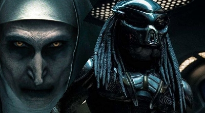 The Predator dethrones The Nun at the weekend Box Office!