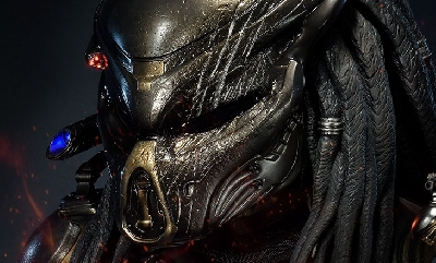 The Predator: Life size Fugitive Predator bust now available!
