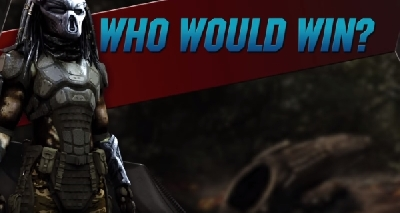 The Predator: Versus Feaurette pits Predator against a variety of opponents - Who would win?