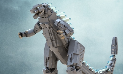 This new LEGO Godzilla: King of the Monsters build needs YOUR support!