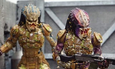 Toy Fair 2019: More images of NECA Emissary Predators, Fugitive and Assassin Predator figures!