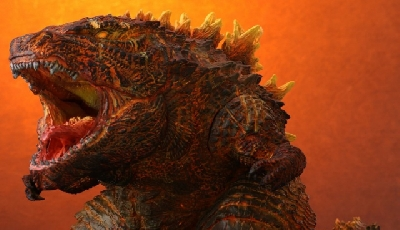 X-Plus DefoReal Burning Godzilla 2019 figure images and price unveiled!