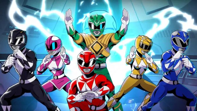 Mighty Morphin Power Rangers: Mega Battle Announced For PS4 And Xbox One
