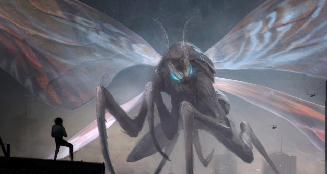 Mike Dougherty shares official Mothra concept art from Godzilla 2!
