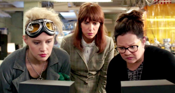 Misogynistic haters blamed for negative reaction to Ghostbusters reboot!