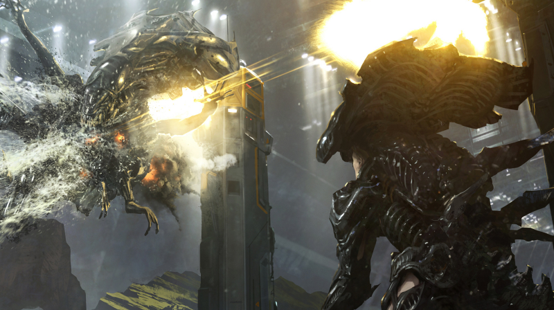 More Alien 5 concept art uncovered which suggests an Alien Hive war!