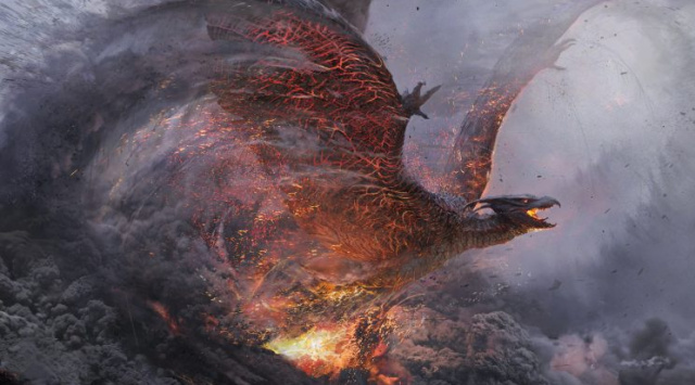 MPC share Godzilla 2: King of the Monsters Rodan concept artwork!