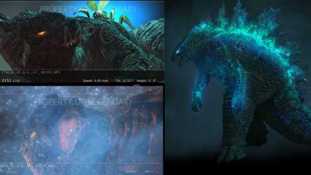 MPC showcase more Godzilla and Ghidorah concept art from Godzilla 2: King of the Monsters!