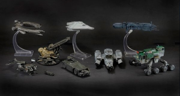 NECA announces upcoming Alien franchise inspired vehicle miniatures!