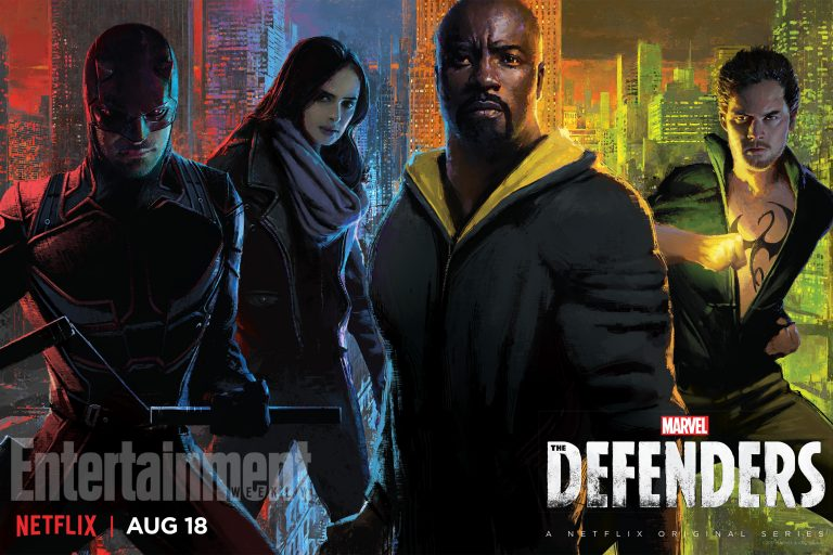 Netflix Debut New Posters For The Punisher And The Defenders