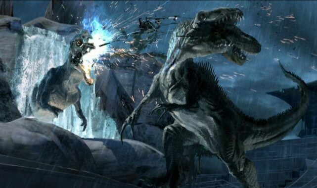 Never before seen Jurassic World concept art surfaces a year after the film's release!