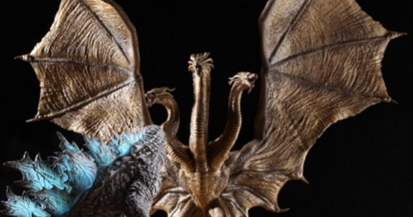 New Art Spirits Godzilla: King of the Monsters Figure Images