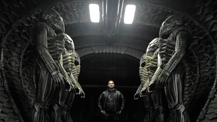 New behind-the-scenes Alien: Covenant set photos shared online!