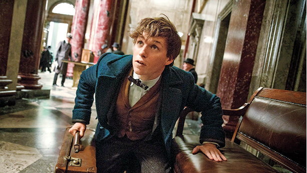 New Fantastic Beasts and Where to Find Them behind the scenes video