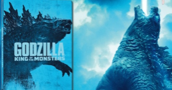 New Godzilla: King of the Monsters SteelBook!