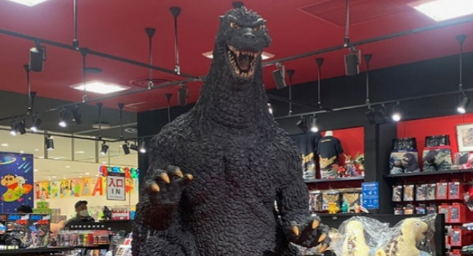 New Godzilla Store Osaka Opens in Japan