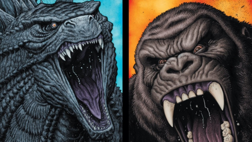 New Godzilla vs. Kong Graphic Novel Covers Revealed