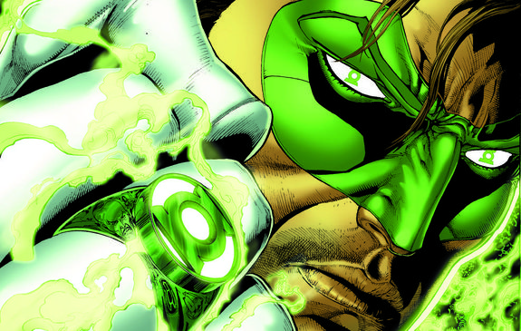 New Green Lantern comic series launches