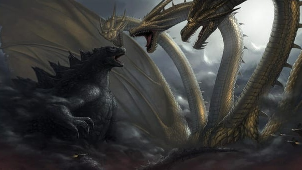 New King of the Monsters cave painting reveals new info on Godzilla, Mothra Rodan and Ghidorah!