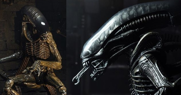 New NECA Big Chap and Runner Alien figures on the way!