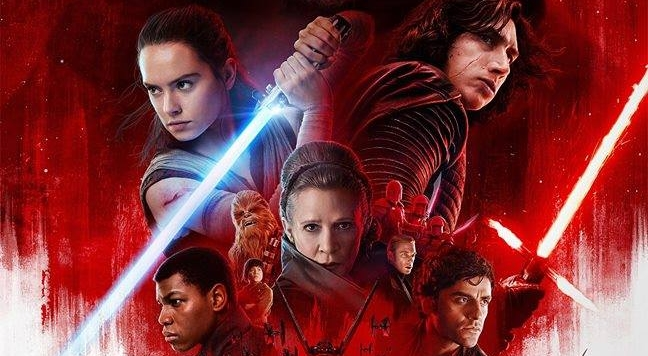 New official Star Wars: The Last Jedi movie poster debuts online!