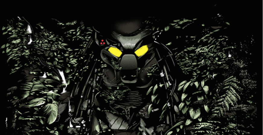 New Predator Poster from the Bottleneck Gallery teases the Predator on the hunt!