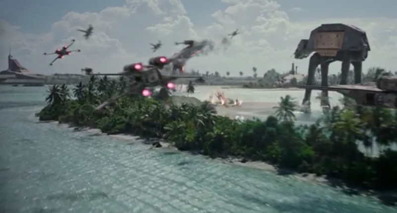 New Rogue One: A Star Wars Story TV Spot reveals new footage!