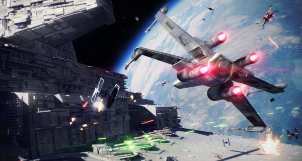 New Star Wars: Battlefront II, Starfighter Assault gameplay trailer!