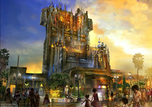New Video Details Disneyland California's Guardians of the Galaxy Attraction