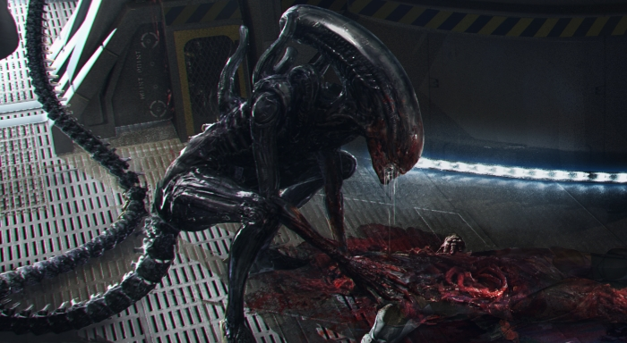 New Xenomorph Alien: Covenant concept art by MPC hits the web!