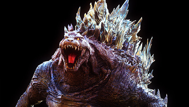 Now this Godzilla looks absolutely yolked!