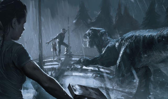 Official Jurassic World: Fallen Kingdom concept art by Goran Bukvic!