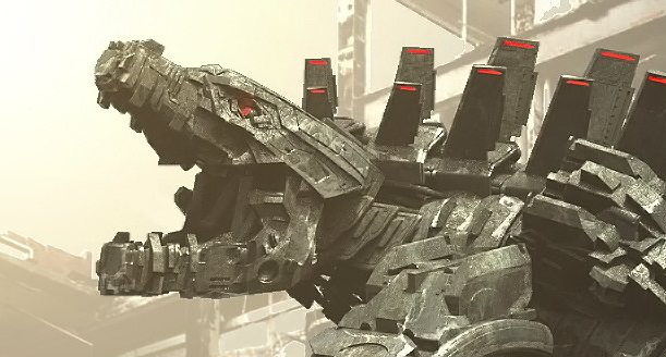 Official Mechagodzilla (Godzilla vs. Kong) concept art by Jared Krichevsky at Legacy Effects!