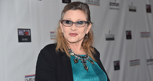 Our prayers go out to Star Wars actress Carrie Fisher who recently suffered a serious heart attack