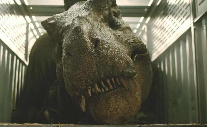 Owen and Claire rescue the T-Rex in Jurassic World: Fallen Kingdom movie clip!