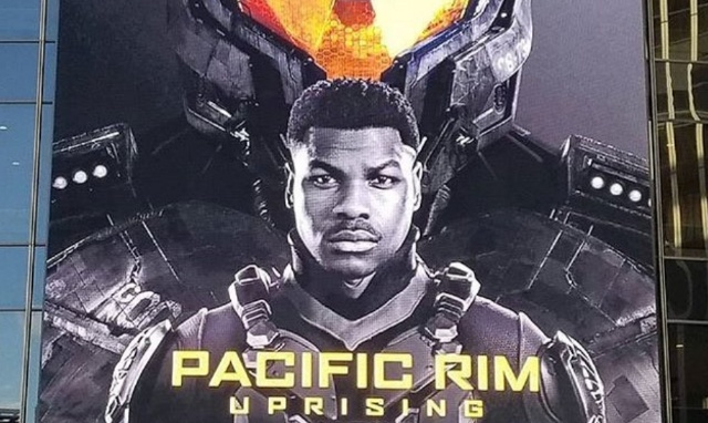 Pacific Rim 2 billboard spotted in New York!