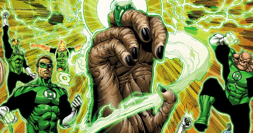 Planet of the Apes/Green Lantern Crossover Comic Incoming