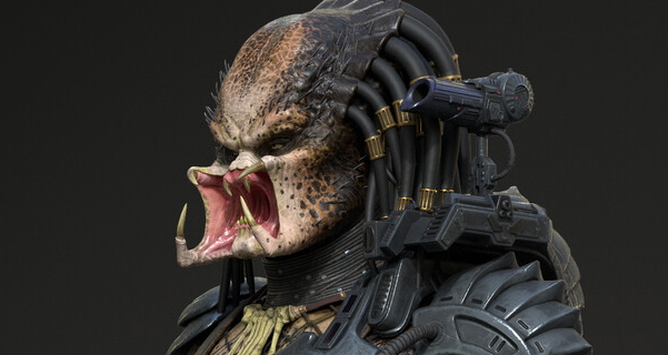 Predator: Hunting Grounds game model renders hit the web!