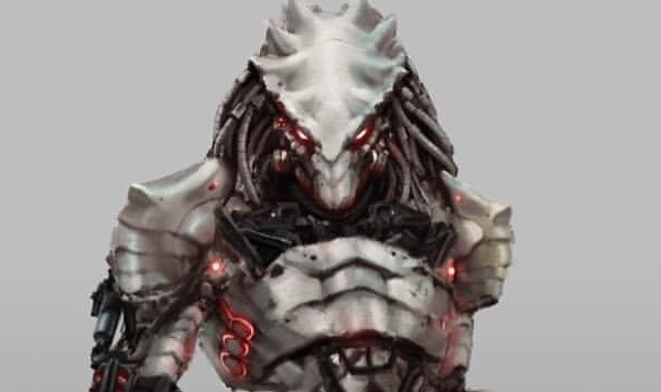 PREDATOR KILLER (The Predator 2018) concept artwork!