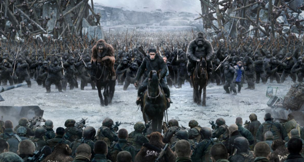 Prepare for the War for the Planet of the Apes!