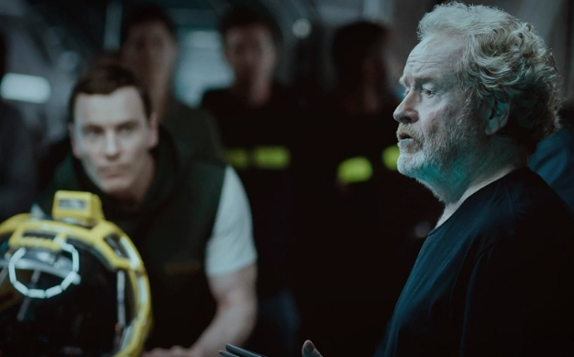 Ridley Scott injured on the set of Alien: Covenant!