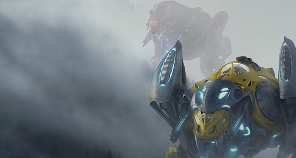 Saber Tooth Tiger Leads the Charge in New Power Rangers Poster