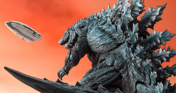 SH MonsterArts Godzilla Earth is Coming