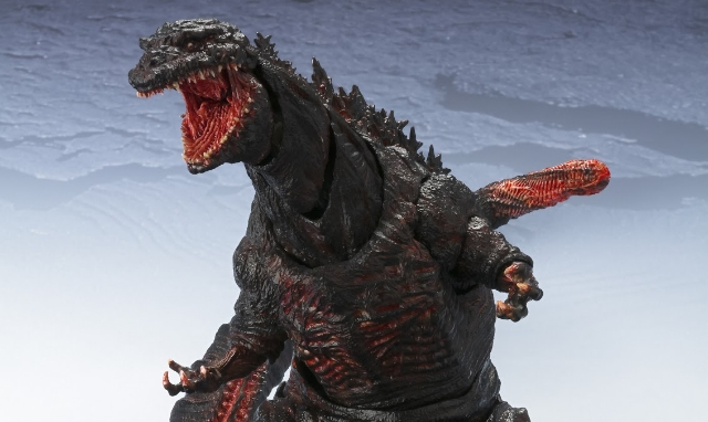 S.H. MonsterArts unleash new photos of their Shin Godzilla 2016 figure!