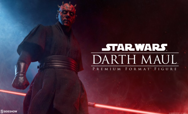 Sideshow Collectibles announce Darth Maul premium format Star Wars figure!