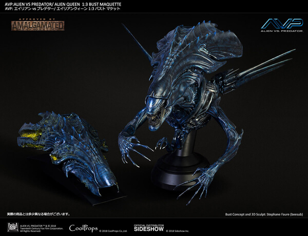 Sideshow Collectibles Reveal a Stunning Xenomorph Queen Bust