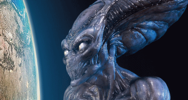 Sideshow Collectibles unveil life-size Independence Day Alien statue!
