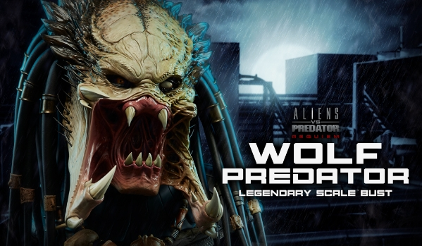 Aliens vs. Predator: Requiem Legendary Scale Bust from Sideshow unveiled!